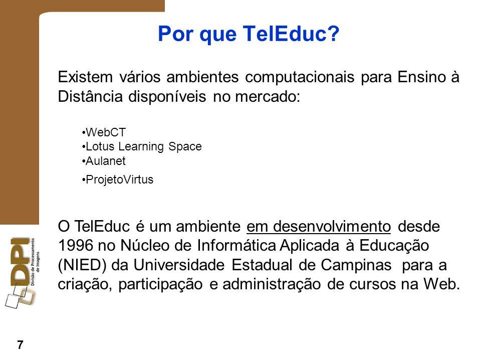 7 Por que TelEduc.
