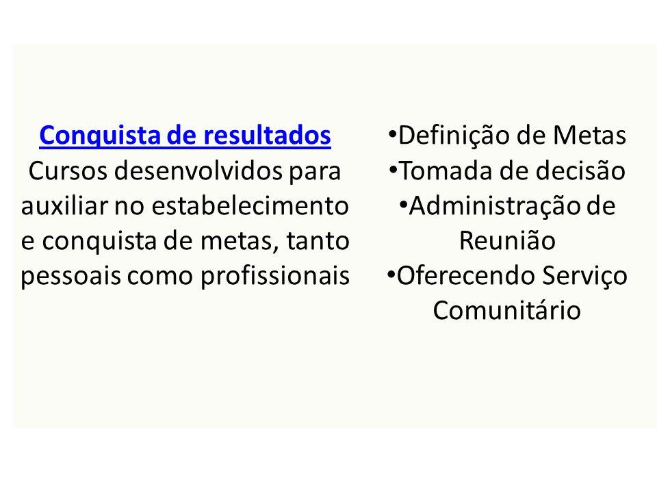 Categoria do curso: Conquista de resultados *Observação: O Centro de Leonístico de Aprendizagem (LLC) é um sistema separa do WMMR/MyLCI.