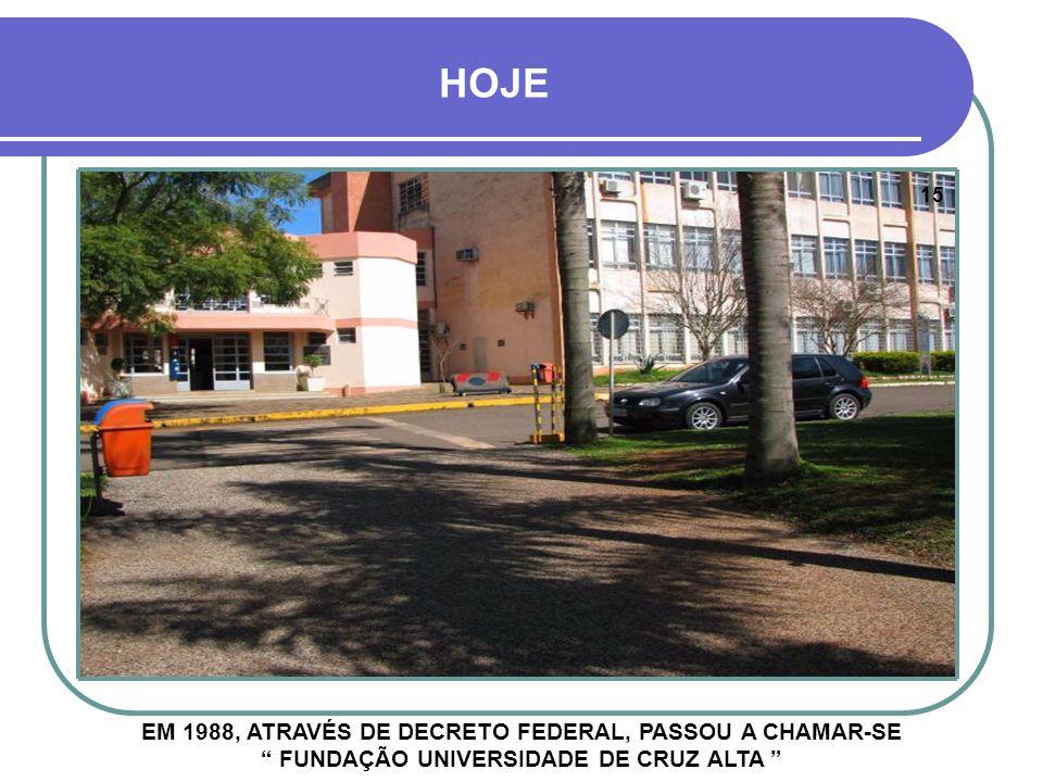 DÉCADA DE 1980 ABERTURA DE NOVAS VIAS INTERNAS