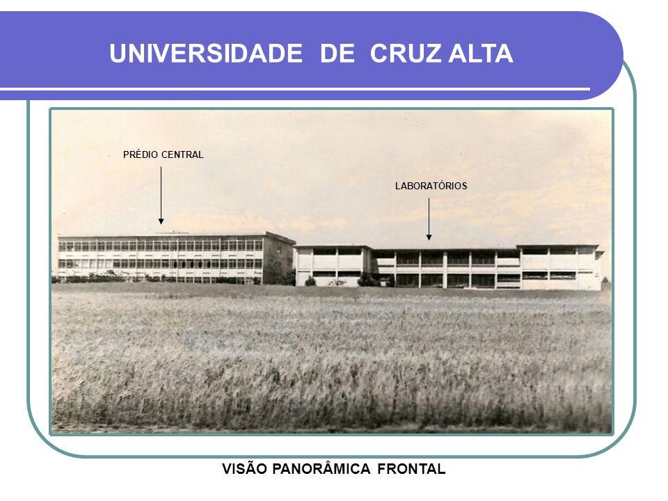 HOJE EM 1993, FINALMENTE PASSOU A DENOMINAR-SE UNIVERSIDADE DE CRUZ ALTA - UNICRUZ - 23