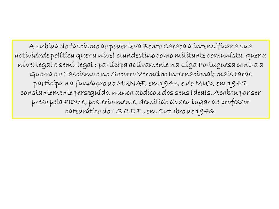 Bento de Jesus Caraça, morreu em Lisboa, a 25 de Junho de 1948, com apenas 47 anos de idade.