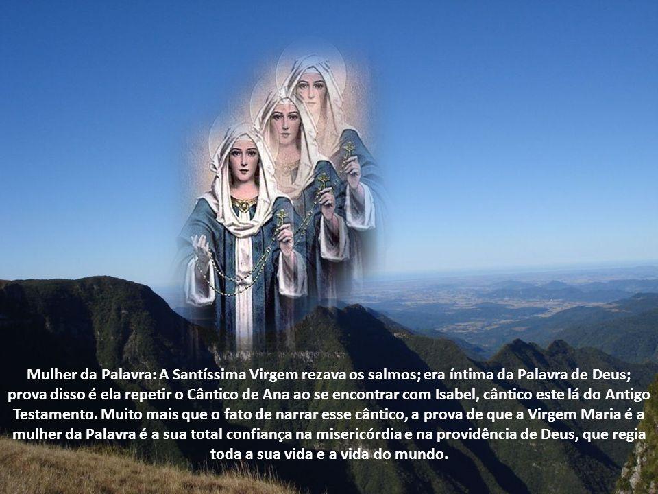 A Santíssima Virgem Maria participa da Glória do Filho e é a antecipação da sorte dos eleitos; isso significa que já existe uma criatura ressuscitada no Céu, em corpo e alma: Maria.