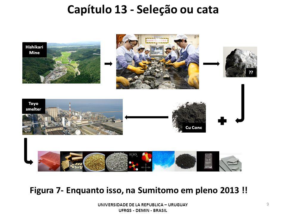 9 Figura 7- Enquanto isso, na Sumitomo em pleno 2013 !! UNIVERSIDADE DE LA REPUBLICA – URUGUAY UFRGS - DEMIN - BRASIL Capítulo 13 - Seleção ou cata Hi
