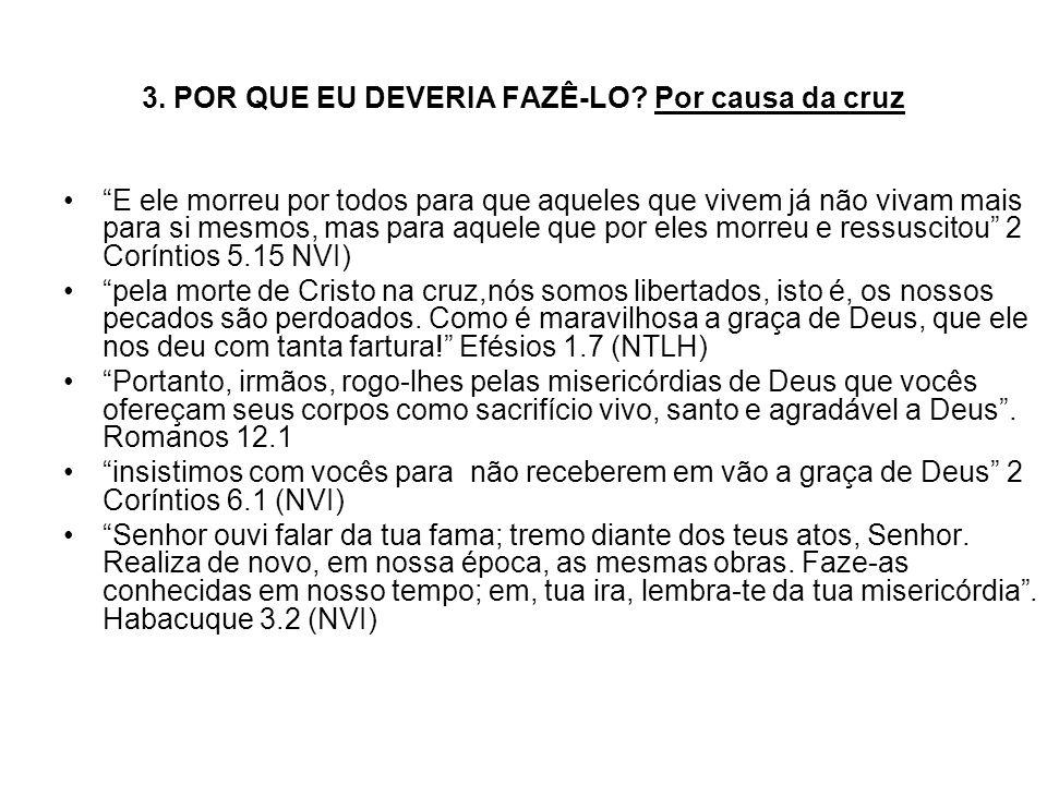 Hebreus 12.1 diz: - vamos ler juntos esse versículo: desembaraçando-nos de todo o peso e do pecado que tenazmente nos assedia...