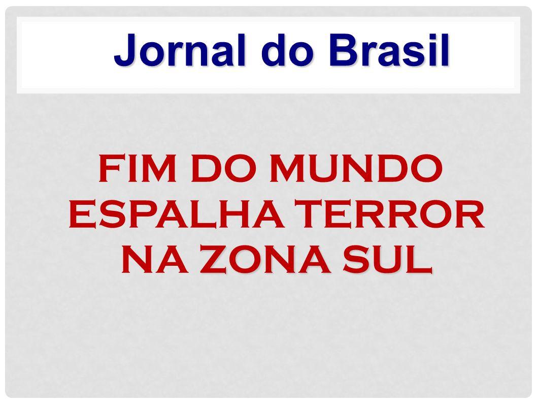SERÁ QUE O MUNDO VAI ACABAR MESMO? Jornal Estado de Minas