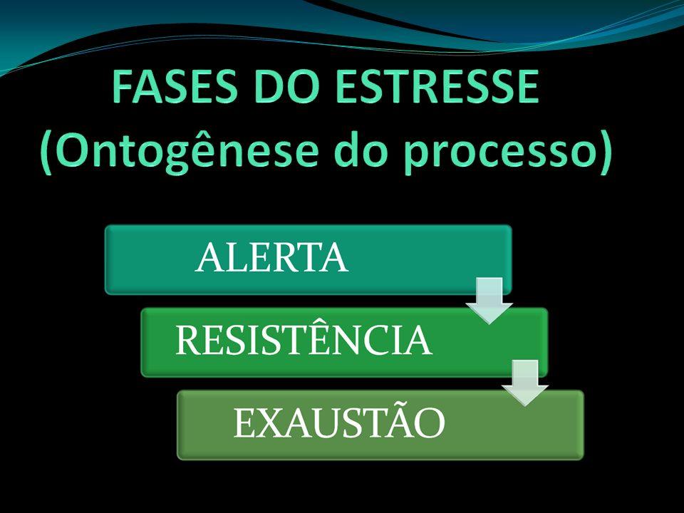EUSTRESSE: estresse positivo que é gerado através de estímulos estressantes que não ultrapassam a capacidade de resposta do indivíduo.