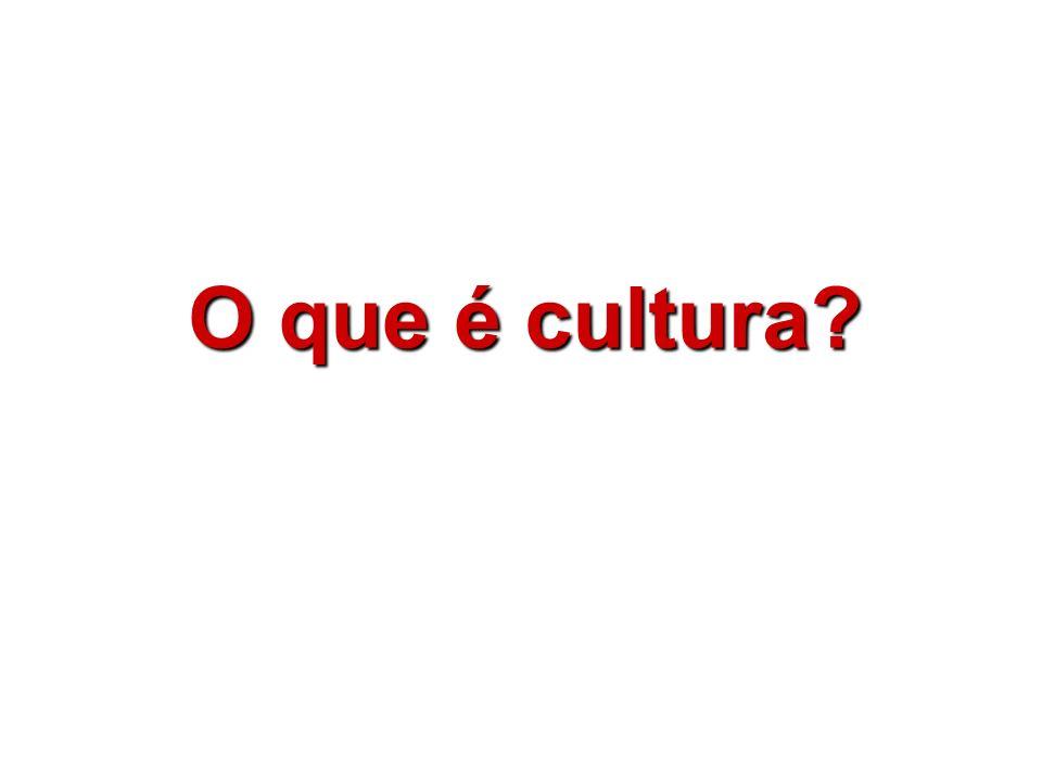 Uma vez que a cultura é uma construção de grupos humanos, anterior a cada um de nós, precisamos aprender os modos de nossa cultura.