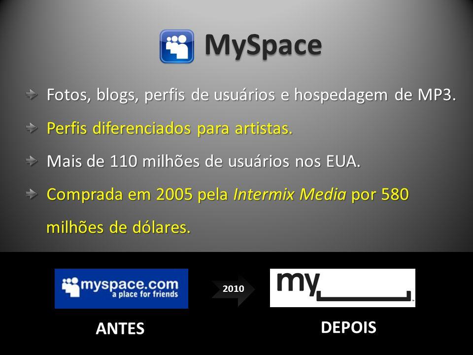 MySpace Fotos, blogs, perfis de usuários e hospedagem de MP3. Fotos, blogs, perfis de usuários e hospedagem de MP3. Perfis diferenciados para artistas