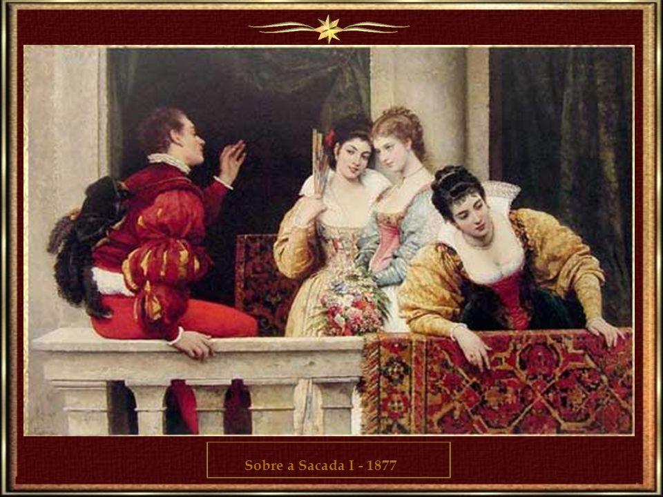 Eugene estabeleceu-se em Veneza como professor consagrado. Especializou-se em descrever uma escala larga das cenas venezianas, retratando povos italia