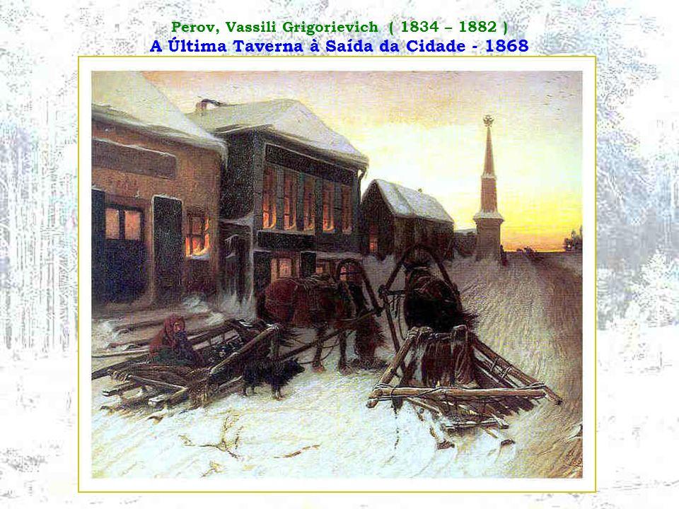 Maximov, Vassily Maximovich ( 1844 – 1911 ) Tudo está no Passado - 1889