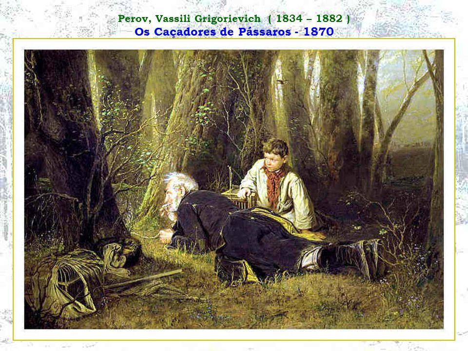 Perov, Vassili Grigorievich ( 1834 – 1882 ) A Última Taverna à Saída da Cidade - 1868