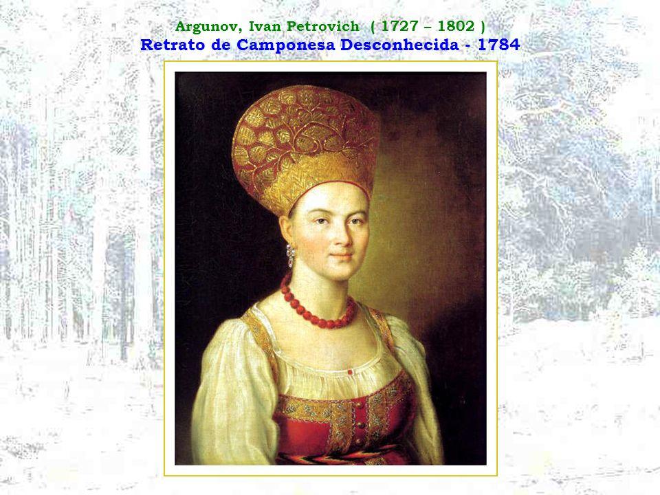 Grandes Pintores Russos Шедевры русской живописи A pintura russa, ao contrário da literatura e da música, é praticamente desconhecida no Ocidente. Est