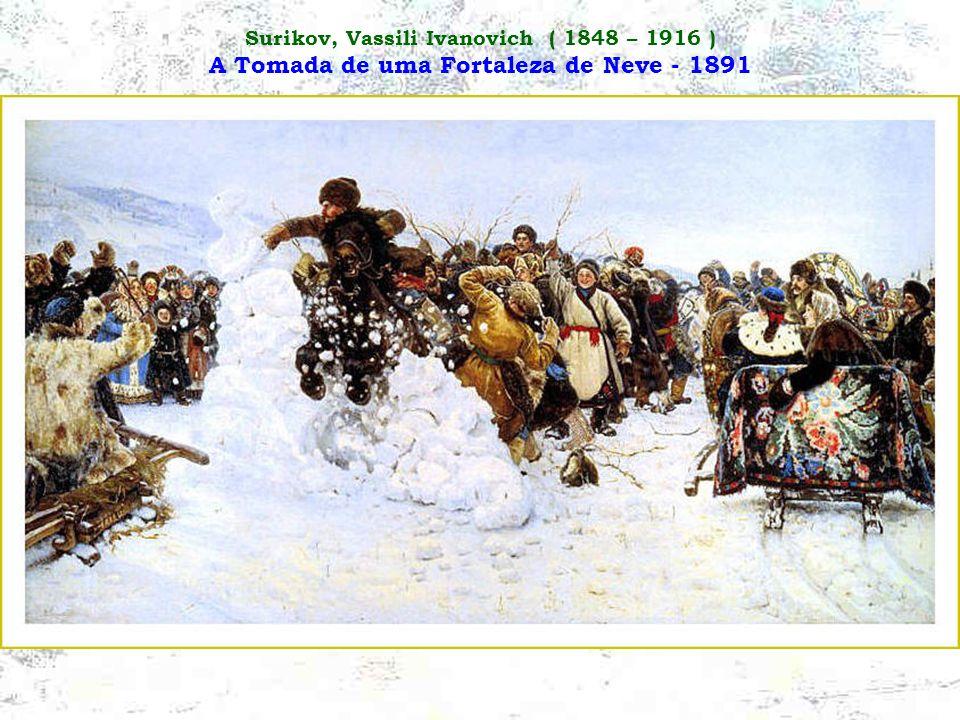 Surikov, Vassili Ivanovich ( 1848 – 1916 ) Boiarina Morozova - 1887
