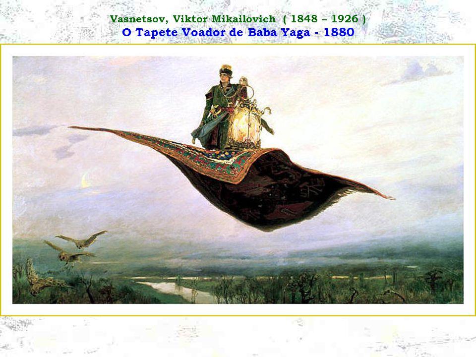 Surikov, Vassili Ivanovich ( 1848 – 1916 ) A Conquista da Sibéria por Yermak - 1895