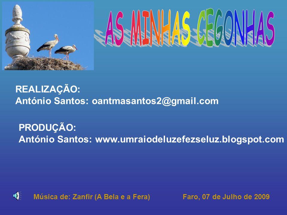 REALIZAÇÃO: António Santos: oantmasantos2@gmail.com PRODUÇÃO: António Santos: www.umraiodeluzefezseluz.blogspot.com Faro, 07 de Julho de 2009Música de: Zanfir (A Bela e a Fera)