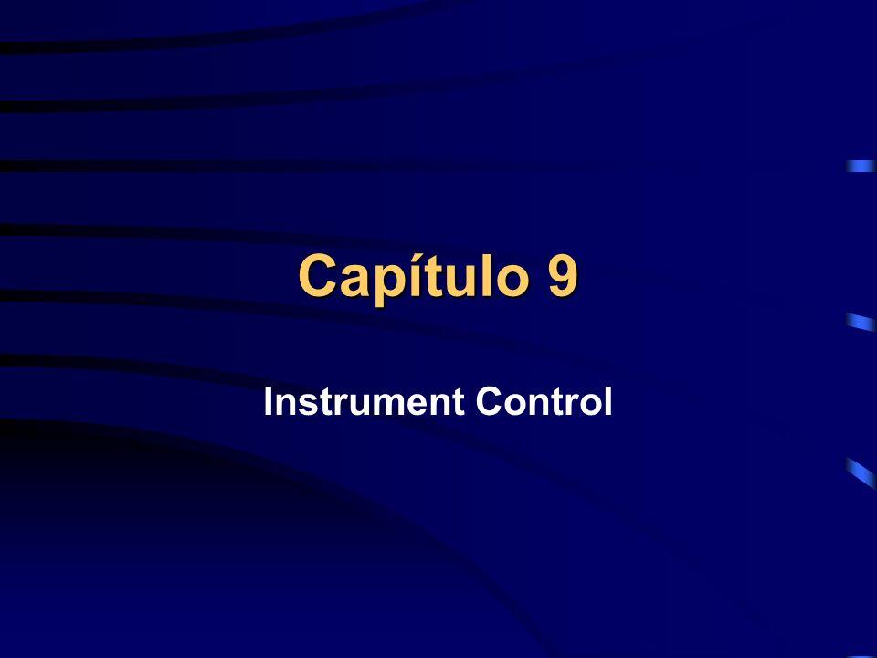 Capítulo 9 Instrument Control