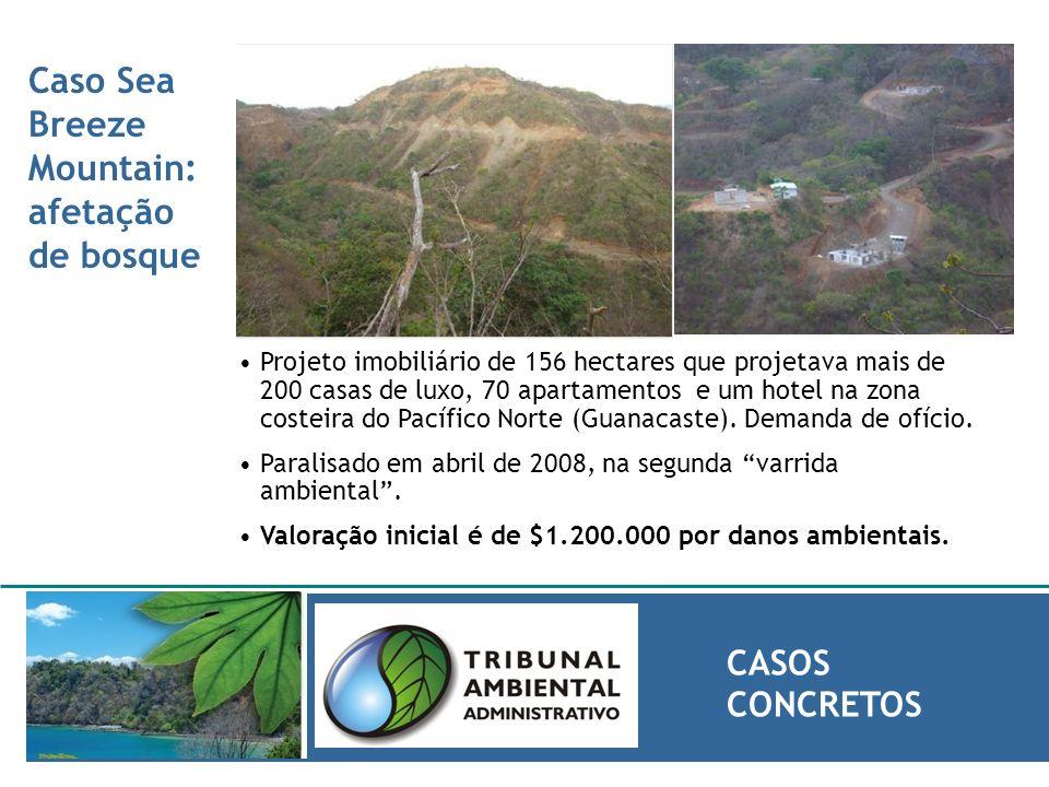 Caso Sea Breeze Mountain: afetação de bosque CASOS CONCRETOS Projeto imobiliário de 156 hectares que projetava mais de 200 casas de luxo, 70 apartamen