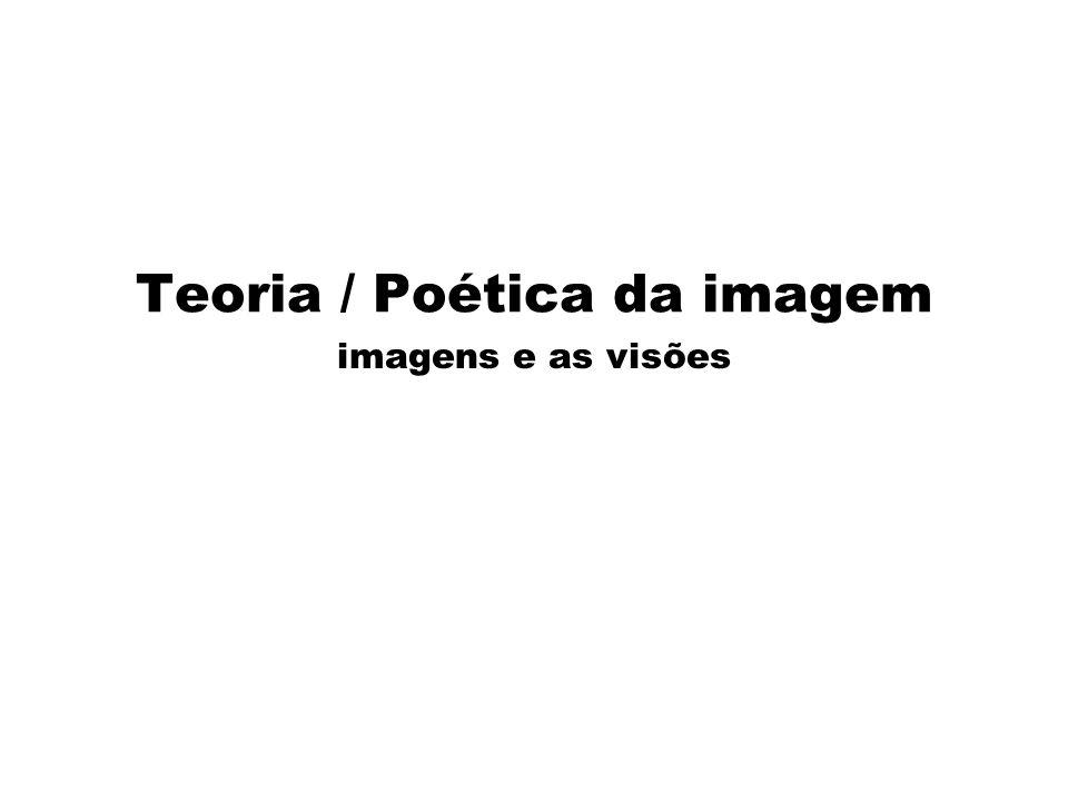 Teoria / Poética da imagem imagens e as visões