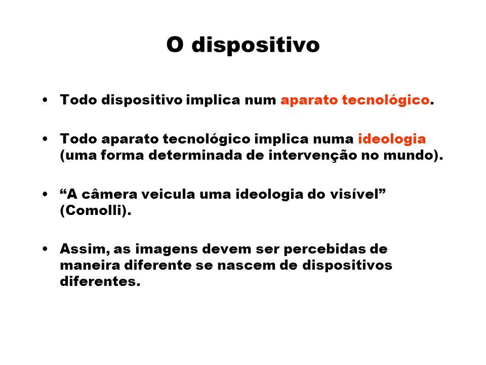 O dispositivo Todo dispositivo implica num aparato tecnológico.