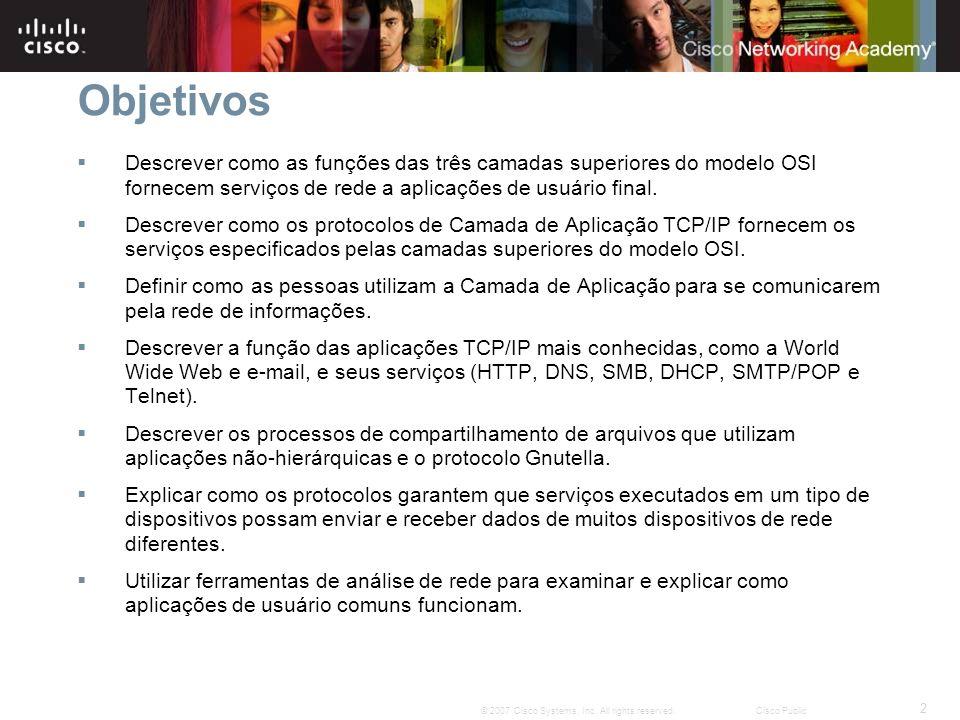 3 © 2007 Cisco Systems, Inc.