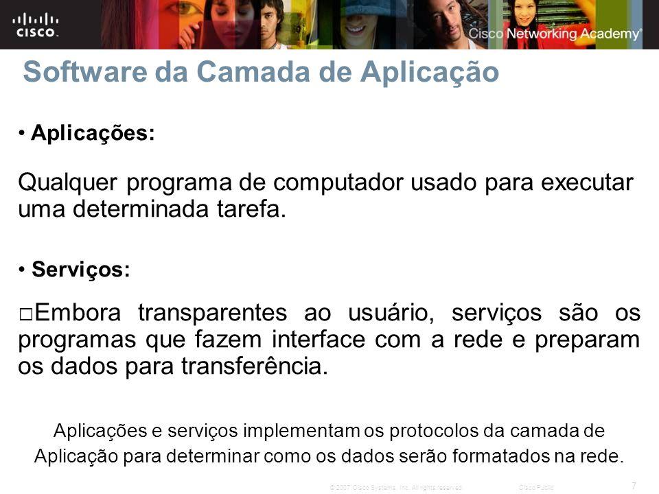 8 © 2007 Cisco Systems, Inc.