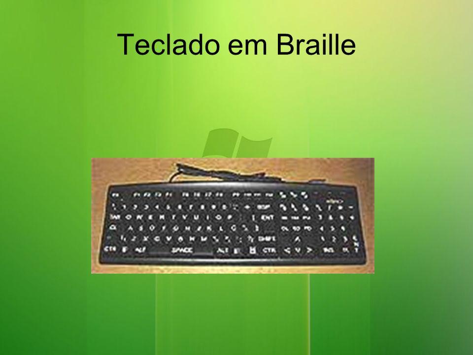 Teclado em Braille