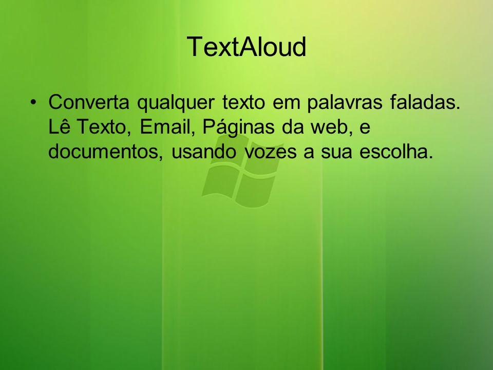TextAloud Converta qualquer texto em palavras faladas.