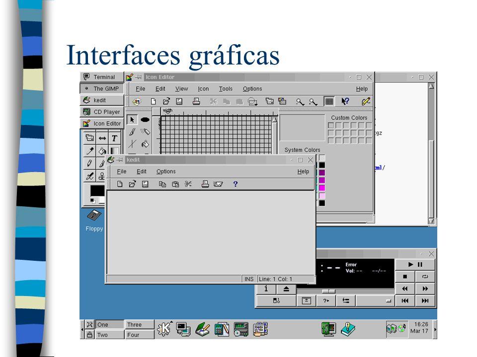 Interfaces gráficas