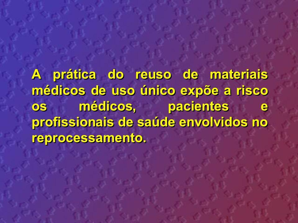 2.Estabelecimento de instrumentos legais de controle sanitários sobre os serviços de saúde e reprocessadores.