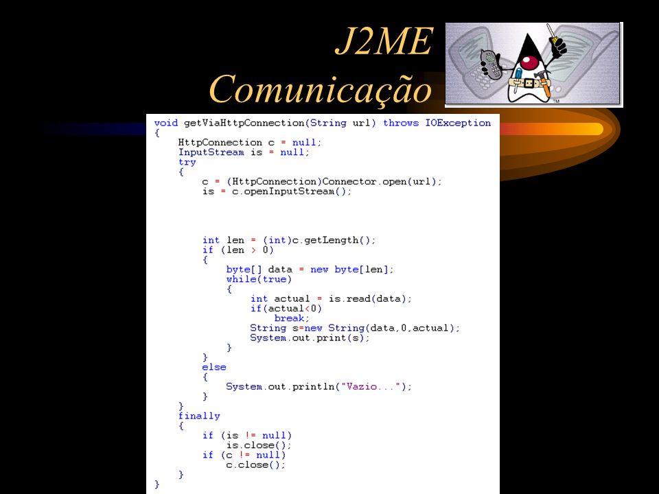 J2ME Comunicação