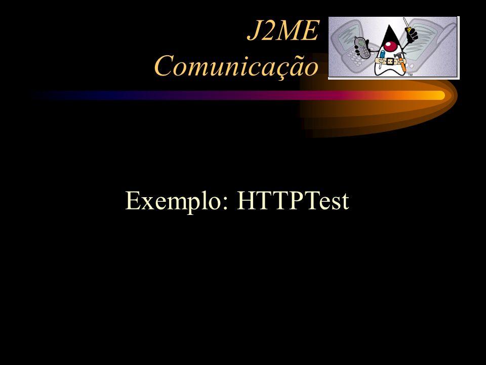 Exemplo: HTTPTest