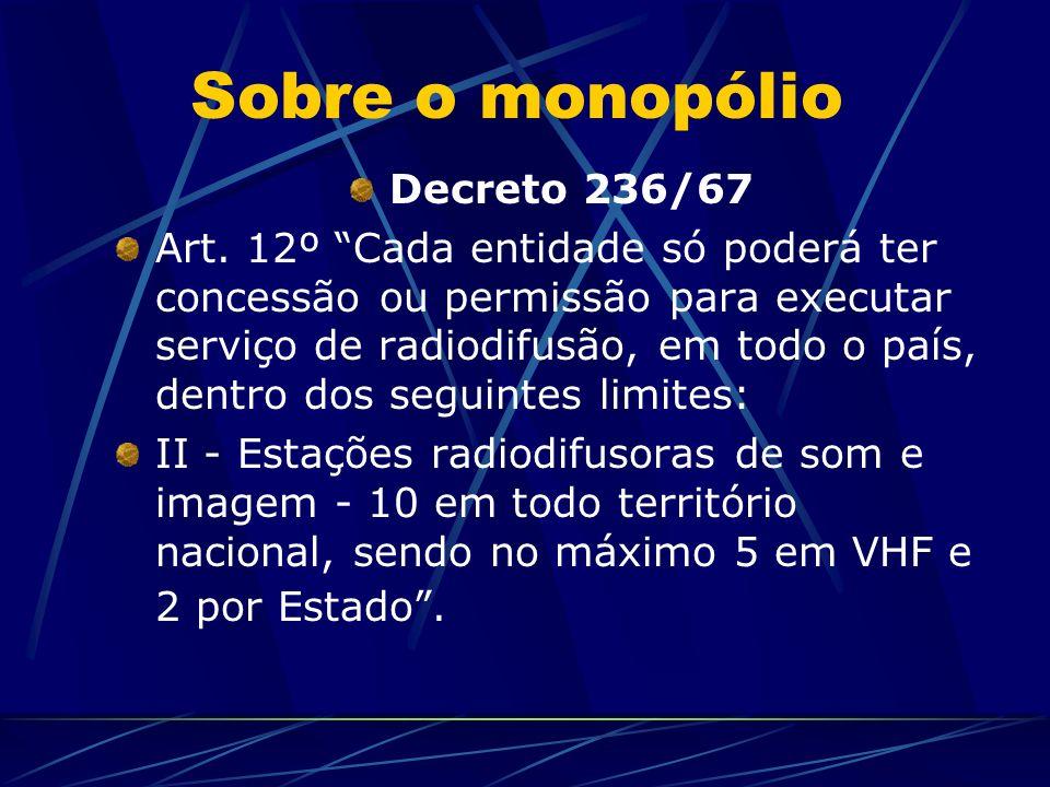 Constituição Art. 221.
