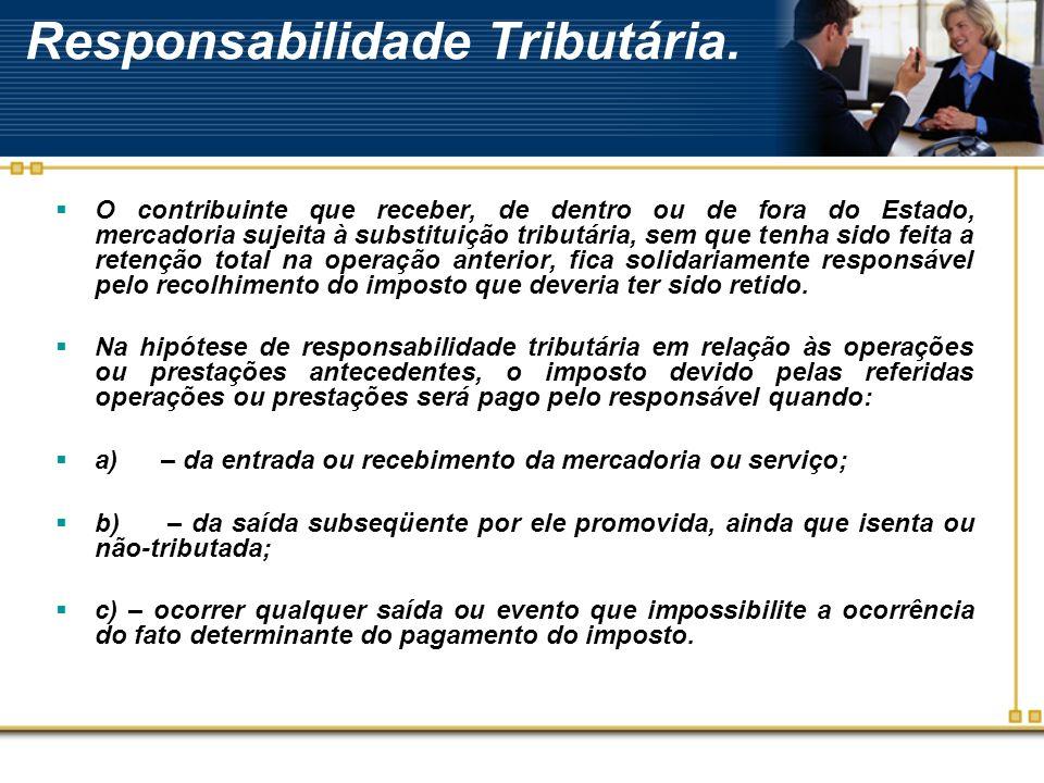 Aplicação do Regime nas operações internas e interestaduais.