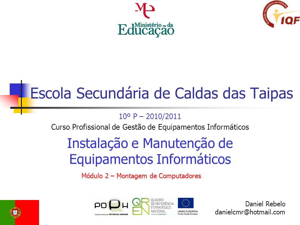 As Interfaces ATA(IDE), SATA e SATA 2