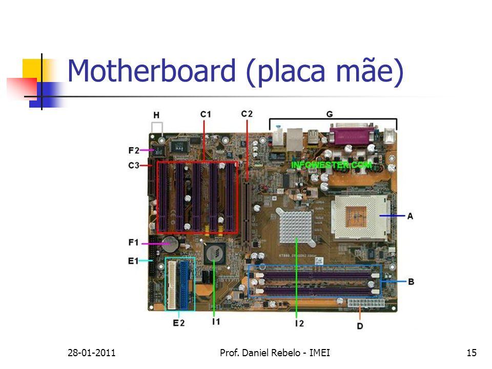 28-01-2011Prof. Daniel Rebelo - IMEI15 Motherboard (placa mãe)