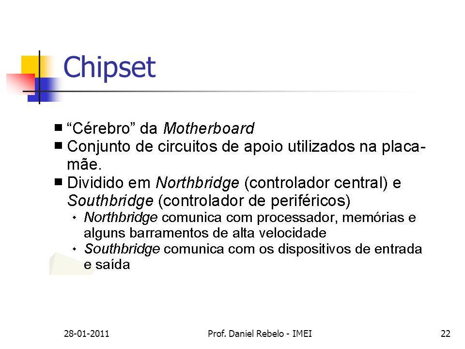 28-01-2011Prof. Daniel Rebelo - IMEI22 Chipset
