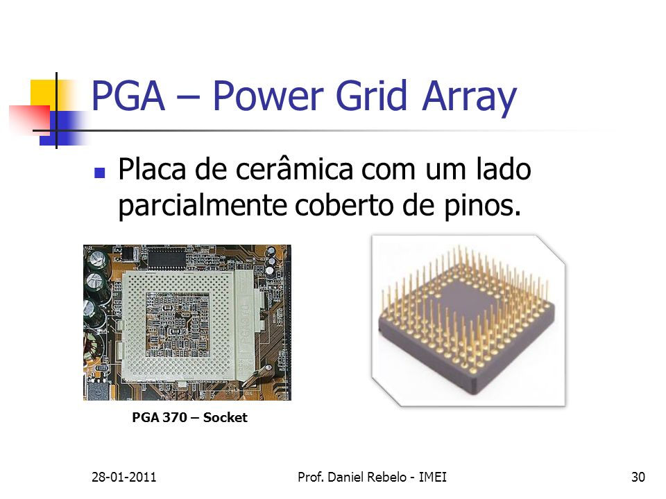 PGA – Power Grid Array 28-01-2011Prof.