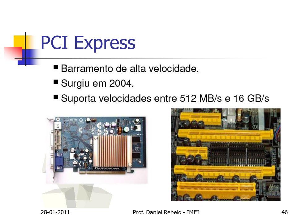 PCI Express 28-01-2011Prof. Daniel Rebelo - IMEI46