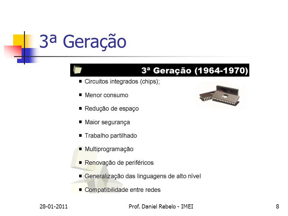 28-01-2011Prof. Daniel Rebelo - IMEI19 Características da motherboard