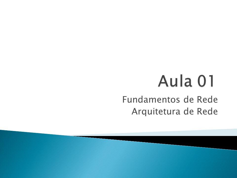 Fundamentos de Rede Arquitetura de Rede