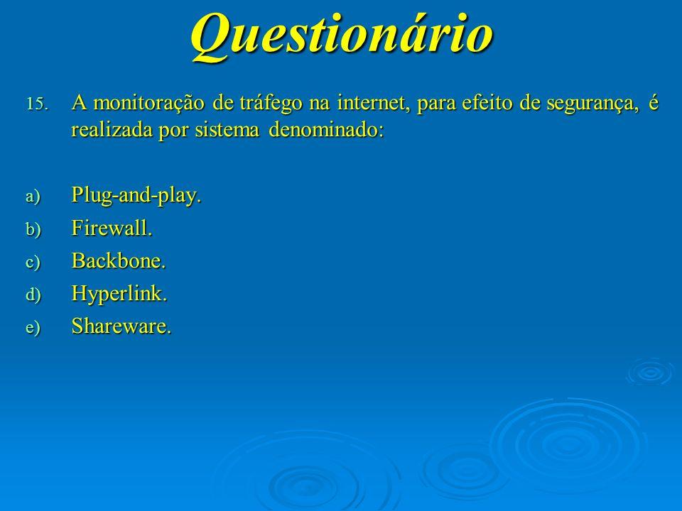Questionário 16.
