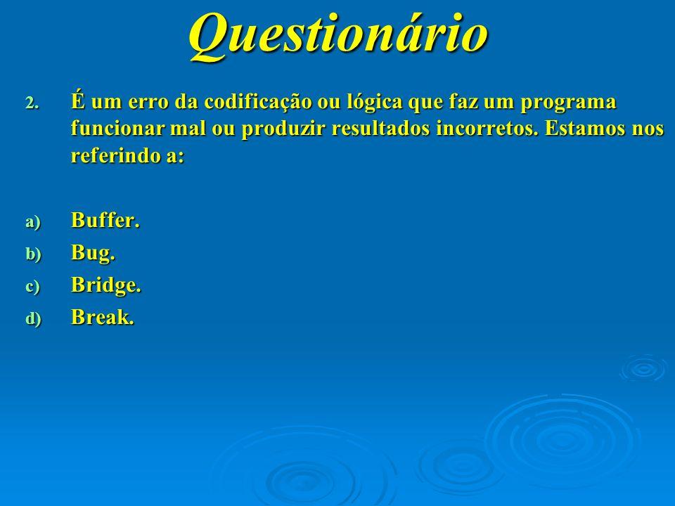 Questionário 3.