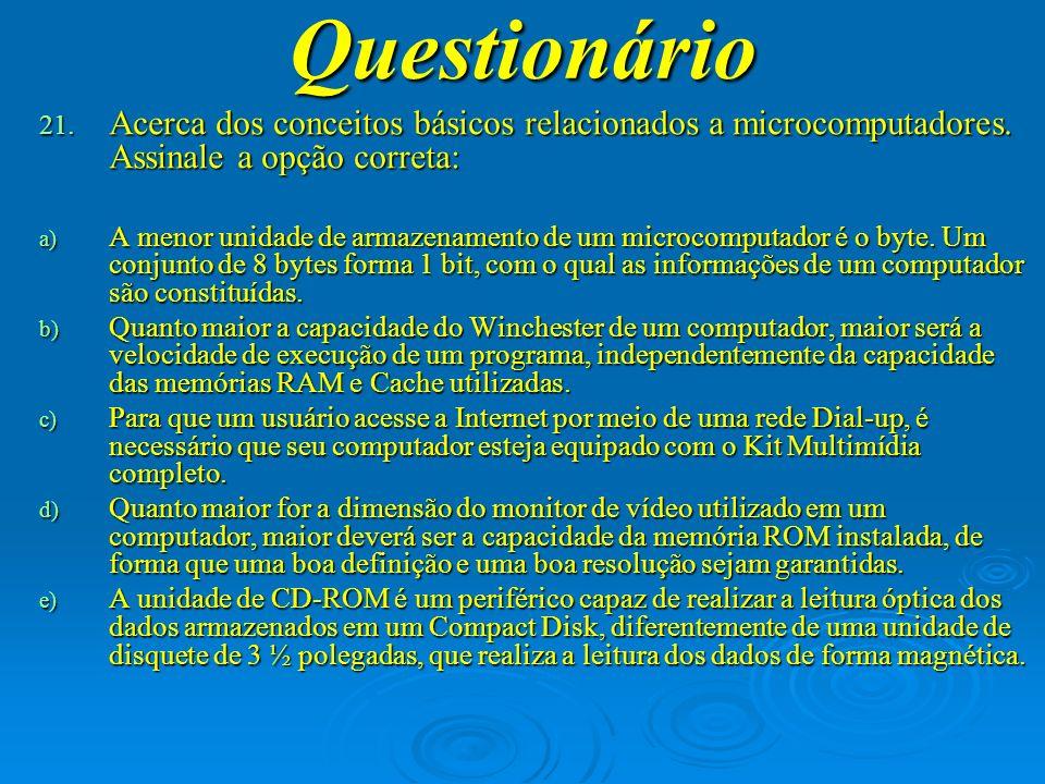 Questionário 22.