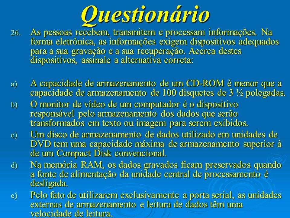 Questionário 27.