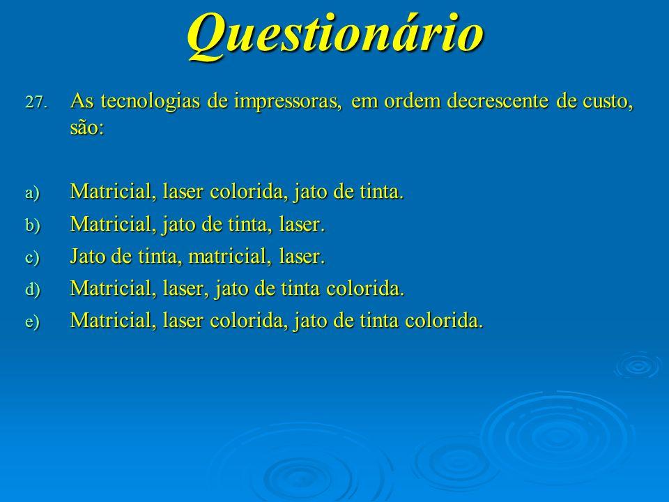 Questionário 28.