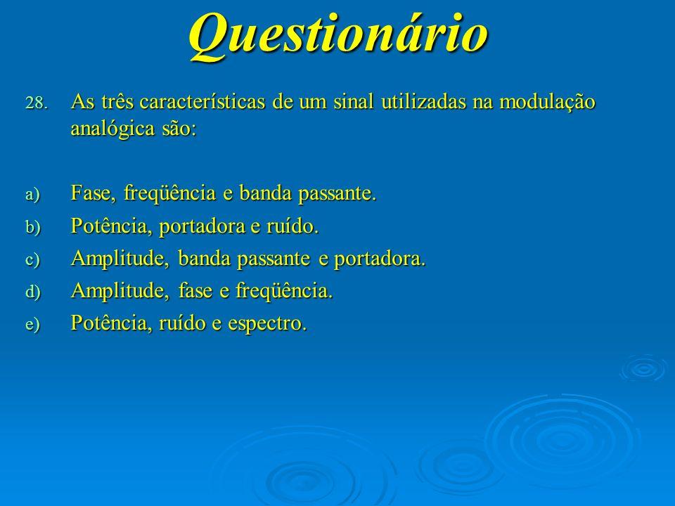 Questionário 29.