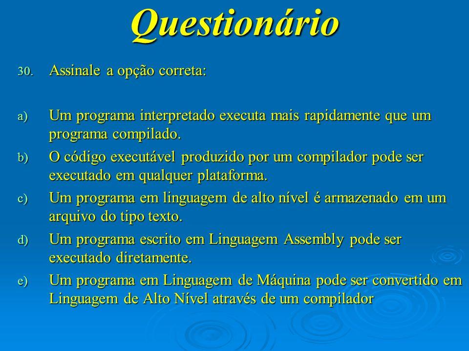 Questionário 31.