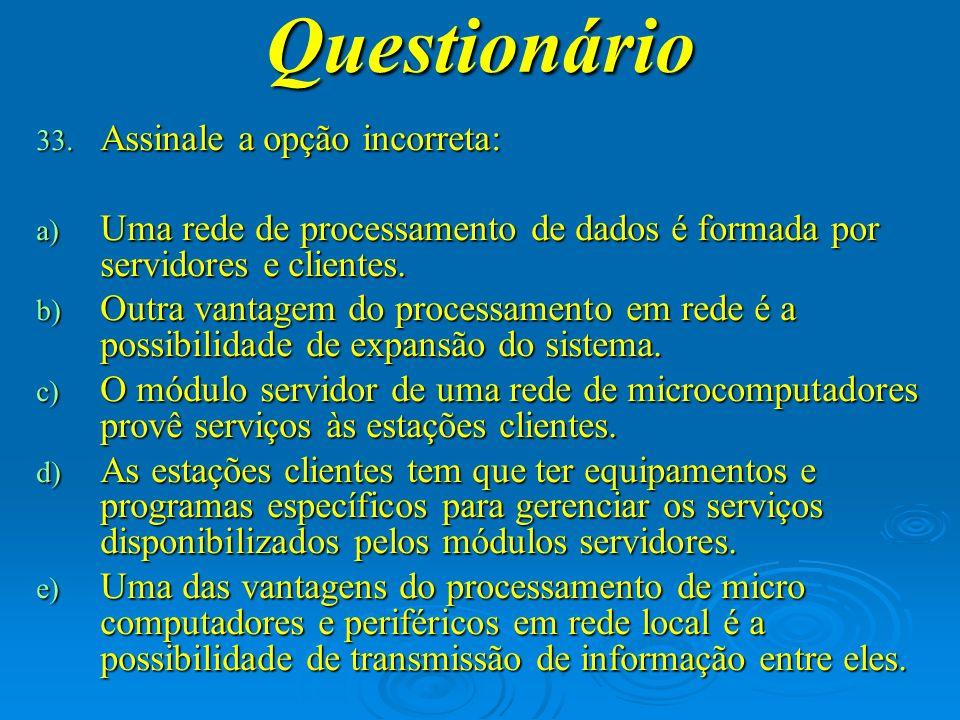 Questionário 34.