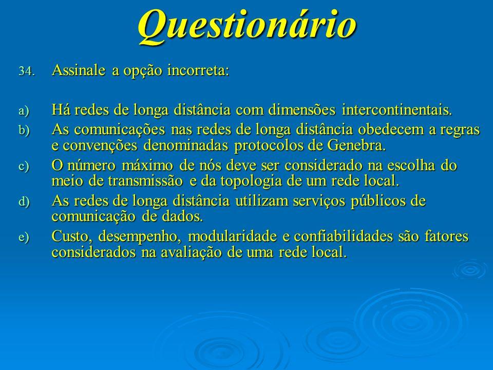 Questionário 35.