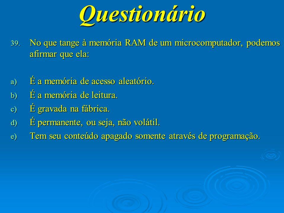 Questionário 40.